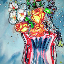 A Vase of Flowers by Shirley Sykes Bracken