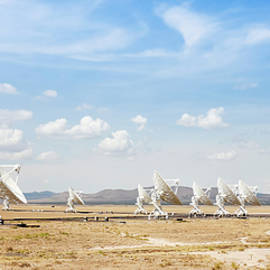 A Very Large Array Scene in New Mexico by Derrick Neill