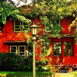Curtis Tilleraas - A Very Red House in St. Paul, Minnesota