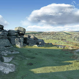 A View From Combestone Tor by Nigel Follett