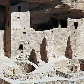 A View of Cliff Palace, Mesa Verde National Park by Derrick Neill