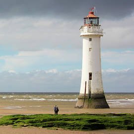 A View of New Brighton, or Perch Rock, Lighthouse by Derrick Neill