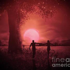 KaFra Art - A Walk In The Moonlight