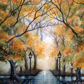 Janine Riley - A Walk in the Park - Autumn