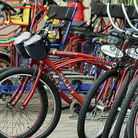 A Wheels of Fun Bike Rental Stand, Marriott Marquis and Marina by Derrick Neill