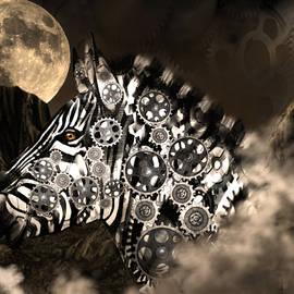 A Wild Steampunk Zebra by Artful Oasis