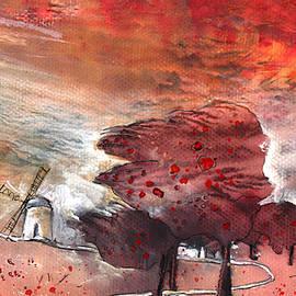 A Windmill On Planet Goodaboom by Miki De Goodaboom