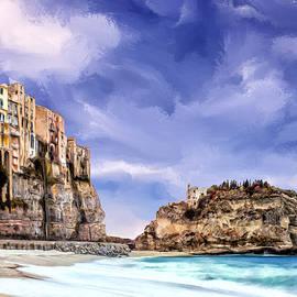 A Winter Day in Tropea Calabria by Dominic Piperata