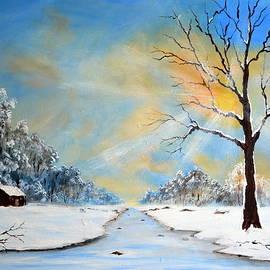 Deepa Sahoo - A Winter Morning