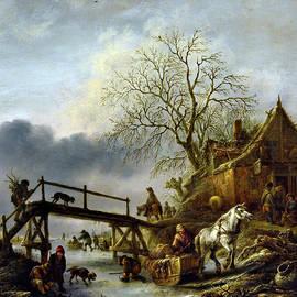 Olivier Blaise - A winter scene