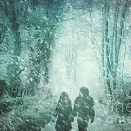 Hal Halli - A Winter Walk in Blue