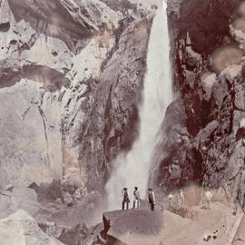 A Yosemite Water Fall by Wes Hanson