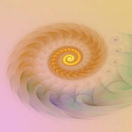 Drasko Regul - a023 Spiraling Right Horn Of A Fractal Musk Auroch
