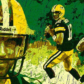 Aaron Rodgers 2015 by John Farr
