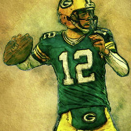 Jack Zulli - Aaron Rodgers Green Bay Packers