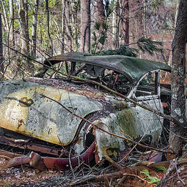 Betty Denise - Abandoned Antique Chevy Car