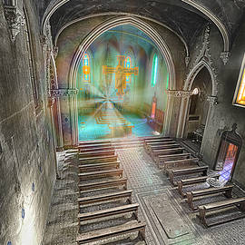ABANDONED BLUE CHURCH II - Chiesa Blu abbandonata II by Enrico Pelos