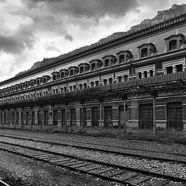 Abandoned Canfranc international railway station BW by RicardMN Photography