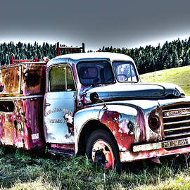 Paul MAURICE - Abandoned fire-truck
