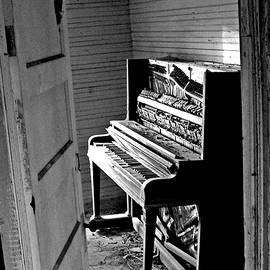 Abandoned Piano by Jerry Griffin