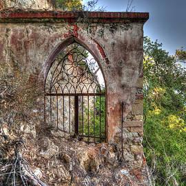 Abandoned Places Iron Gate Over The Sea - Cancellata Sul Mare by Enrico Pelos