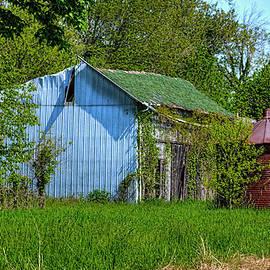 William Sturgell - Abandoned Shed and Rusty Corncrib