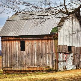 William Sturgell - Abandoned Shed Near an Open Field