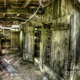 Abandoned Stable by Dan Stone