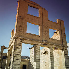 Abandoned Structure Rhyolite Ghost Town by Blake Webster