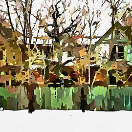Mario Carini - Abandoned Structure in Paint