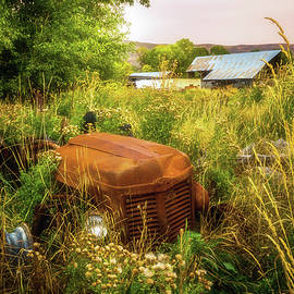 Abandoned Tractor by TL Mair