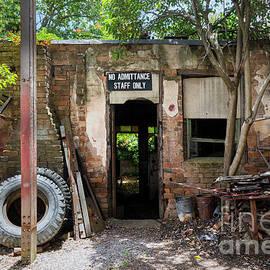 Stuart Row - Abandoned Workshop