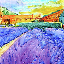 Virgil Carter - Abbey de Senanque, Provence No. 1