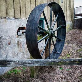 Abbott's Mill Saw Wheel by Brian Wallace