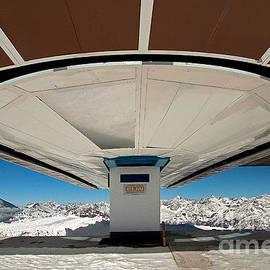 Abondened skilift by Christian Hallweger