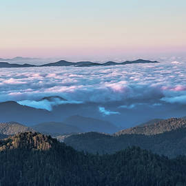 Above The Clouds At Myrtle Point by Jemmy Archer