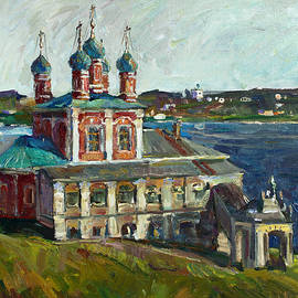 Juliya Zhukova - Above the Volga River