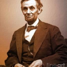 Abraham Lincoln, President of the USA by Mary Bassett - Mary Bassett
