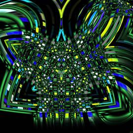 Abstract 401 by Judi Suni Hall
