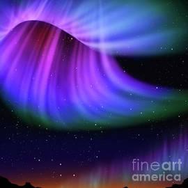 Abstract aurora  - ATIKETTA SANGASAENG