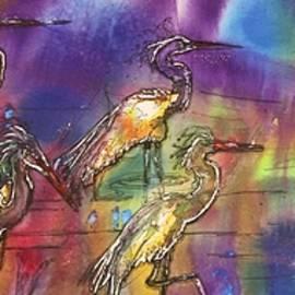Shirley Sykes Bracken - Abstract Birds