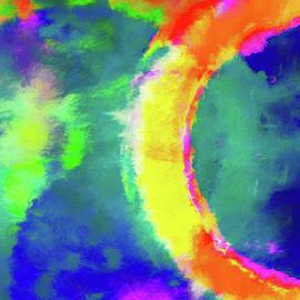 Abstract - Fire in the Sky - Jon Woodhams