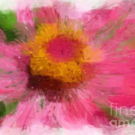 Abstract Flower Expressions by Robyn King