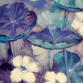 Cathy MONNIER - Abstract from Nasturtiums