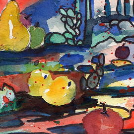 Abstract Fruit by Laurie Salmela