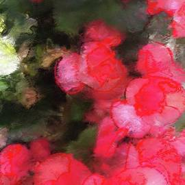 Maggie Vlazny - Abstract Pink Garden