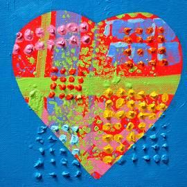 Abstract Heart 50218 by John  Nolan