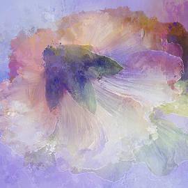 Terry Davis - Abstract in Lavender