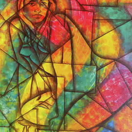 Abstract Of A Beautiful Nude Lady by Asp Arts
