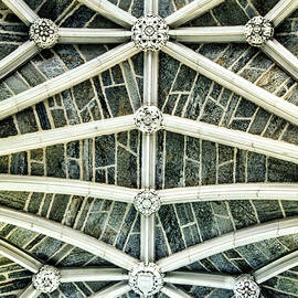 Geraldine Scull - Abstract of a Gothic ceiling